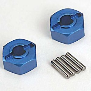 1654X Traxxas Wheel Hubs alu blue
