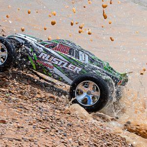 Traxxas Rustler 2WD Electro Racing stadium truck 55+ km/u