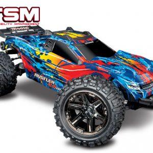 Traxxas Rustler 4×4 VXL Stadium Truck TSM