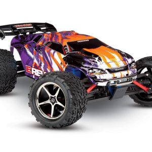 Traxxas E-Revo VXL 1/16 4×4 Brushless TQi TSM (incl battery/charger), Purple
