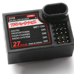2216 Traxxas micro receiver 4-channel