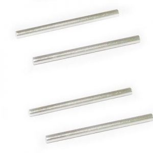 YEL12023 Rear lower suspension hing pins 2,5X37,6mm (4pcs) Yellow RC