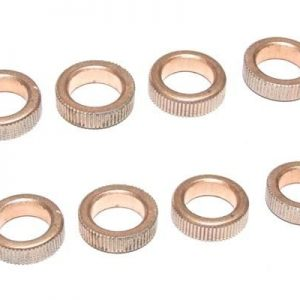 YEL12069 Oiled brass bearings (8X12X3,5mm) (12pcs) Yellow RC