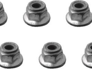 YEL13001 Flange Lock Nut M4 Yellow RC