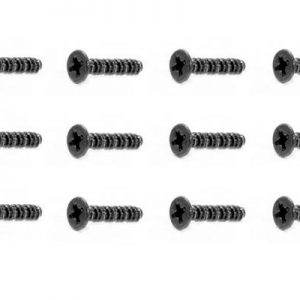 YEL13006 Countersunk self tapping screw 2X15mm (12pcs)