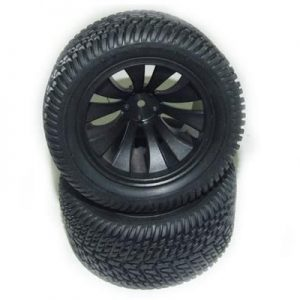 YEL16012 Tires Complete (Street Racer)