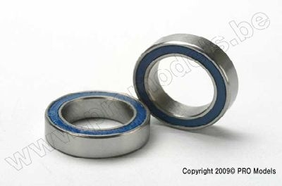 Traxxas 5119 Ball bearings, bleu rubber sealed(10x15x4mm)(2)