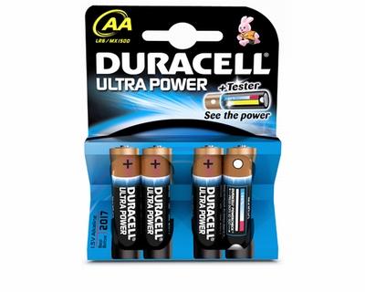 Duracell Ultra Power AA Batery 4 st.