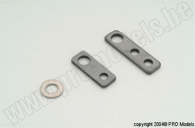 FG 6037 steel fixing plates (als 6037/1 zonder o ring)