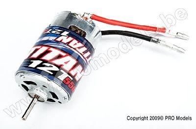 Traxxas Motor, Titan 12T (12-Turn, 550 size) 3785