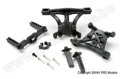Traxxas 5314 Body mounts, front & rear
