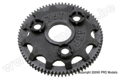 Traxxas 4676 Spur gear, 76 tooth (48 pitch)