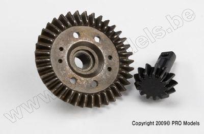 Traxxas 5379X Ring gear, differential, pinion gear