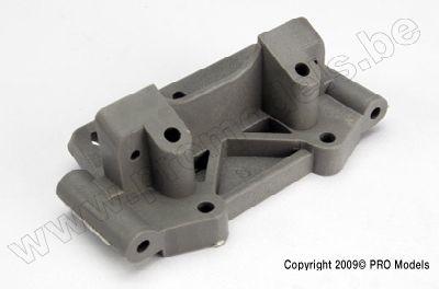 Traxxas 2530A Bulkead (front) (grey)