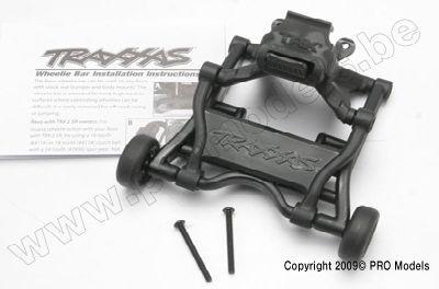 5472 Wheelie Bar, assembled (fits all Revo trucks) Traxxas
