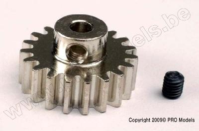 Traxxas 3949 Gear, 19-T pinion (32-p) (mach. steel)/ set scr