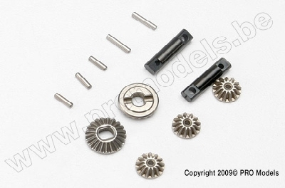 Traxxas 7082 Gear set, differential (output gears (2)/ spide