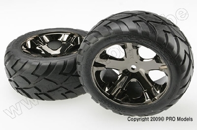 Traxxas 3773A Tires & wheels, assembled, glued (2.8