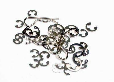 1633 Traxxas E-clips / C-rings