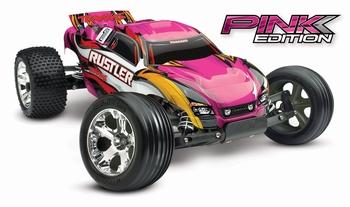 Traxxas Rustler 2WD Pink Edition!