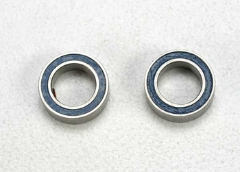 5114 Traxxas Ball bearings, blue rubber sld (5x8x2.5mm) (2)