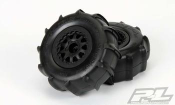 Pro Line Slig Shot Tires & Whees for o.a. Slash (2x)