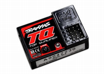 6519 Traxxas Receiver, micro, TQ 2.4GHz (3-channel)