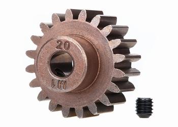 6494X Traxxas Gear, 20-T pinion (1.0 metric pitch) (fits 5mm