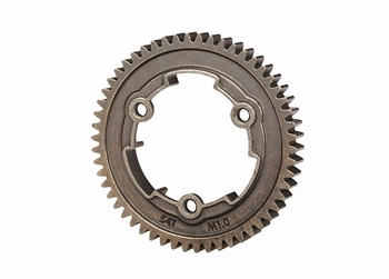 Traxxas 6449X Spur gear, 54-tooth, steel (1.0 metric pitch)
