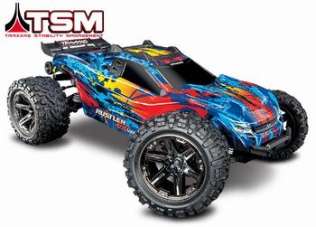 Traxxas Rustler 4x4 VXL Stadium Truck TSM