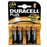 Duracell Plus AA Batery 4 st.