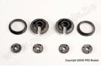Spring retainers, upper & lower (2) /piston head set