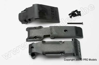 Traxxas 5337 Skid plate set, front(2 p plastic), rear (1 p.)