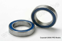 Ball bearings, blue rubber sealed (12x18x4) (2) Traxxas