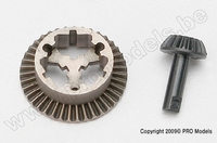 Traxxas 7079 Ring gear, differential/ pinion gear, different