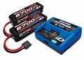 Traxxas 2993GX Battery and charger Completer pack 2x4S