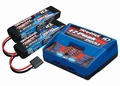 Traxxas 2991GX Battery and Charger Completer pack 2x2S