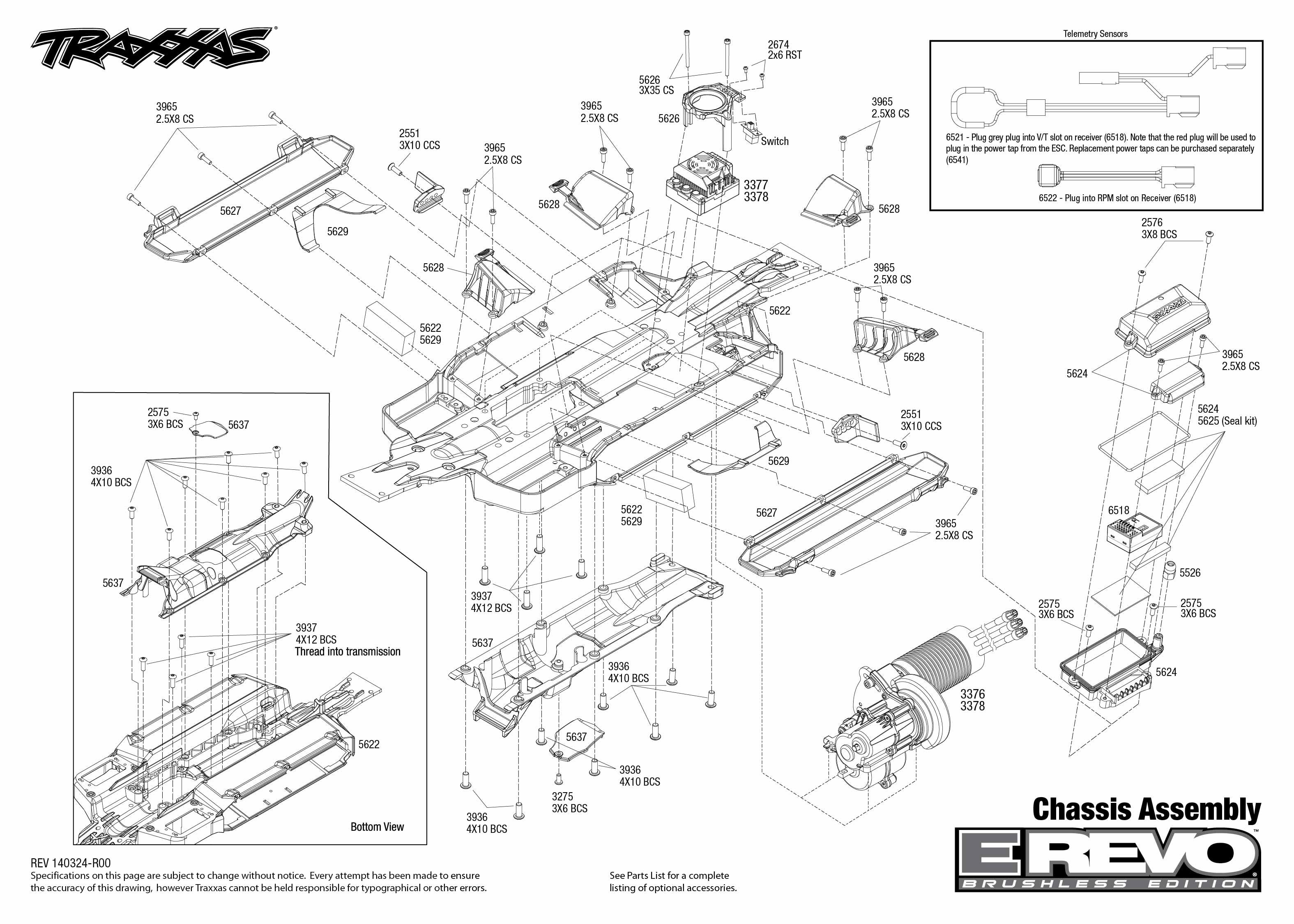 revo 2 5 wiring diagram detailed schematics diagram rh keyplusrubber com Traxxas Traxxas 2 5 Truck Traxxas 2 5 Parts