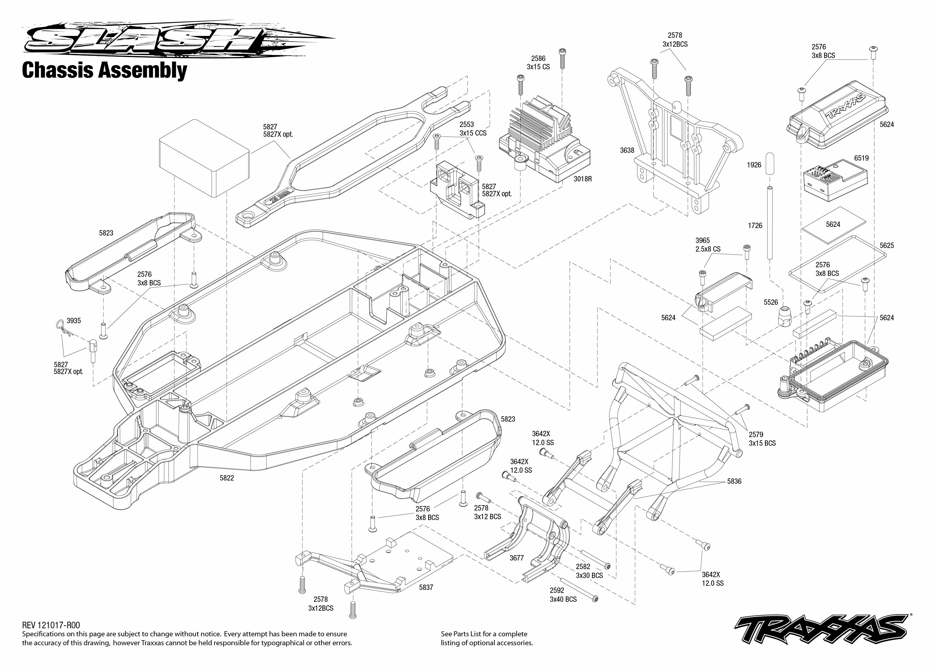 Traxxas Slash Wiring Diagram besides St prod further Traxxas Slash 4x4 Parts Diagram likewise 7105 Transmission Exploded View 116 E Revo Brushed W Titan 550 1T Motor Hobbydel moreover 7005 Rear Exploded View 116 Slash 4X4 Hobbydel. on traxxas 1 16 e revo parts diagram